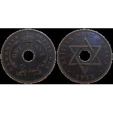 Britská Afrika One Penny 1952