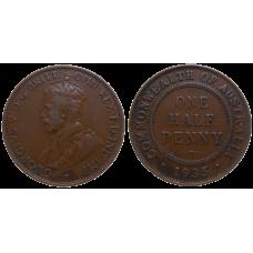 Australia Half Penny 1935
