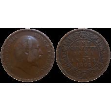 India 1/4 Anna 1908