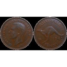 Australia One Penny 1942