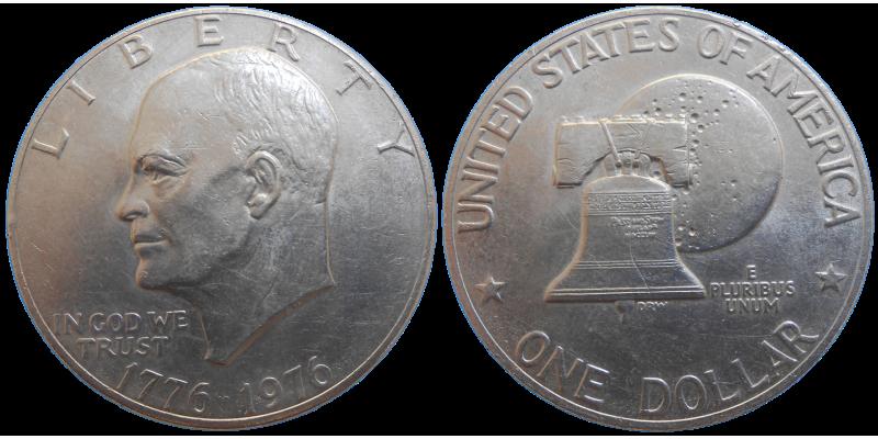 USA 1 Dollar 1976