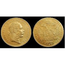 František Jozef I. dukát 1915 bz