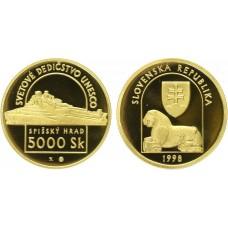 5000 SK 1998 Spišský Hrad