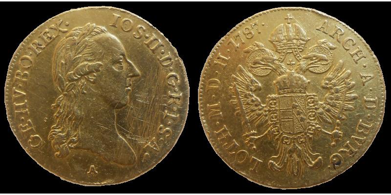 Jozef II. Dukát 1787 A