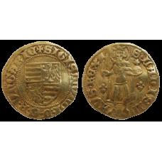 Žigmund Luxemburský dukát H 572 ľalie