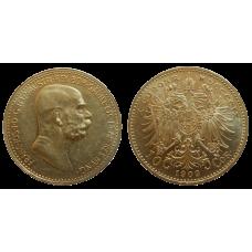 František Jozef I. 10 Koruna 1909 bz